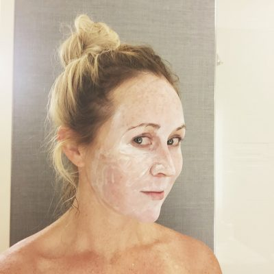 Testing my patience (and an anti-aging mask!)