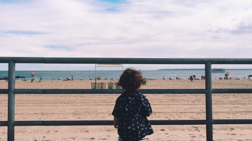 Coney Island Baby on Beach