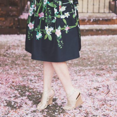Ted Baker Secret Trellis Skirt