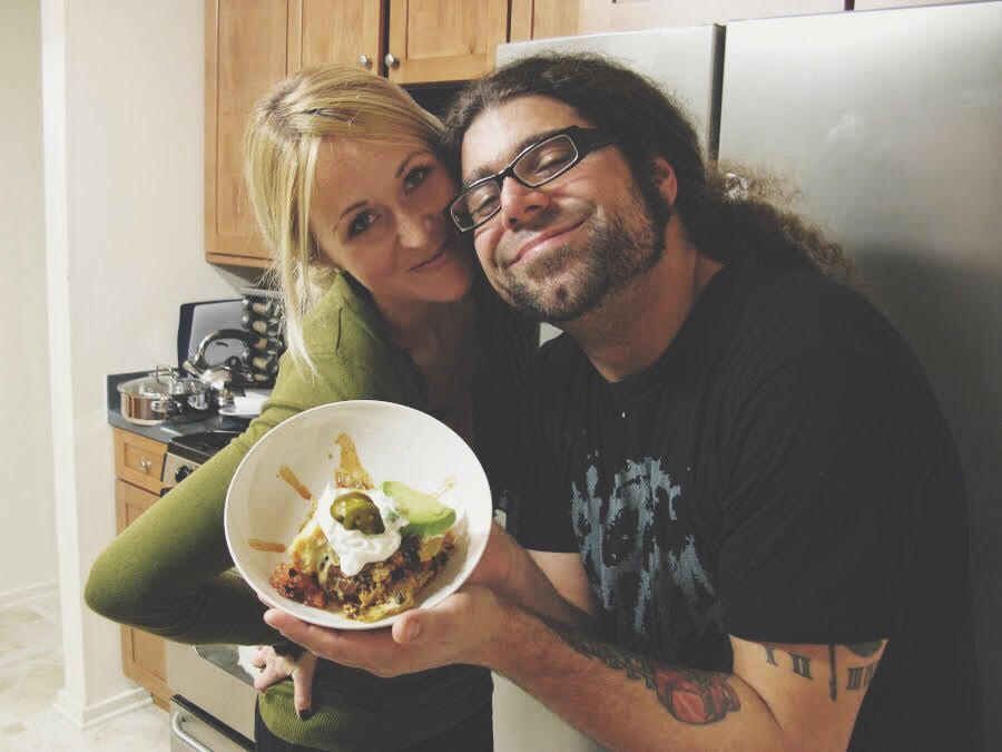 Claudio Sanchez and Chondra Echert's Nacho Pie