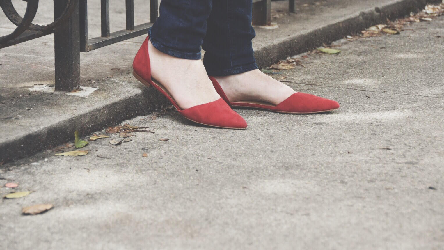 Red Lafayette 148 d'orsay shoes