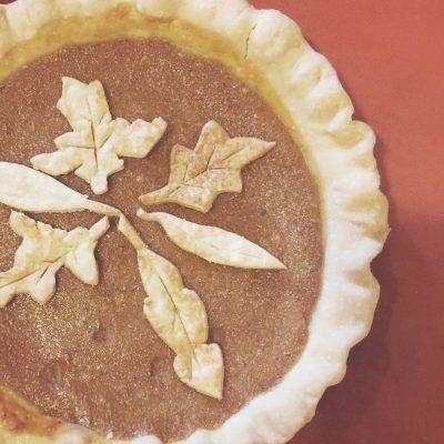 RECIPE: Sublime Pumpkin Pie