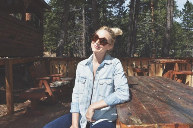 Free People outfit in Colorado